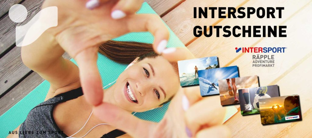 INTERSPORT-Gutscheinkarte